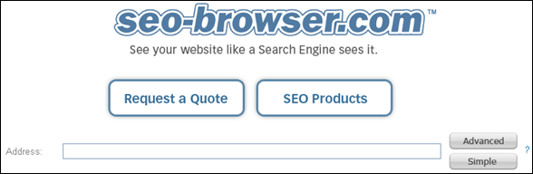 seo browser -Free SEO Software Tool  and Text Browser, Search Engine Optimization Tools - SEO Browser