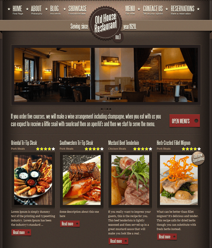 restaurent-wordpress-theme