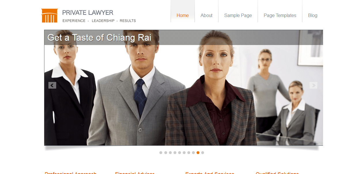 private lawyer wordpress theme download