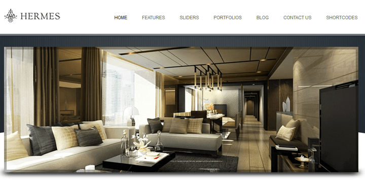 hermes busnienss wordpress template
