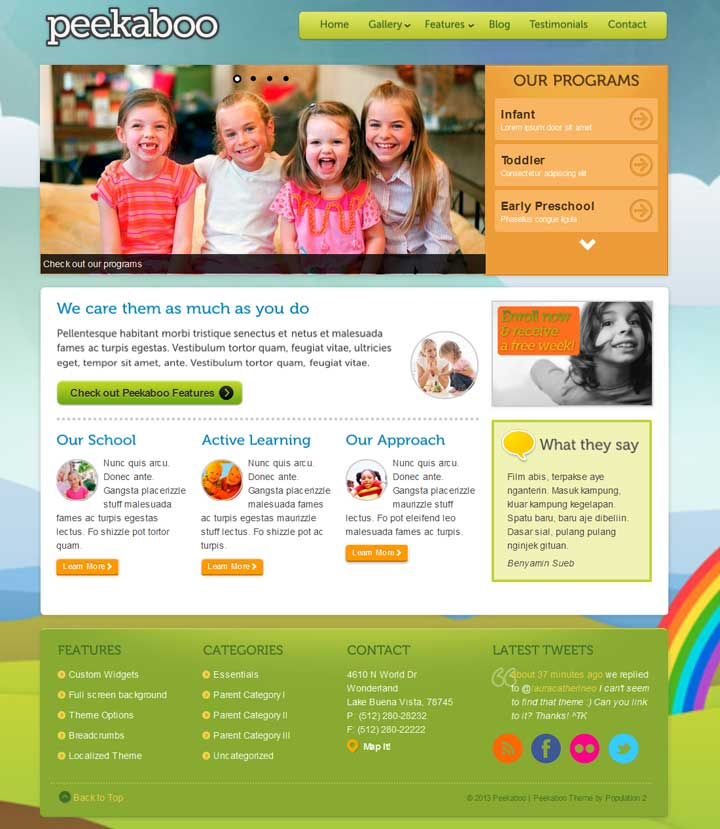 School WordPress Themes 20 Best Education WordPress themes for schools college and universities