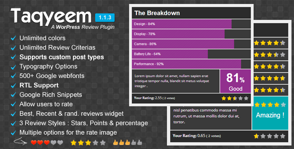 review system wordpress plugin