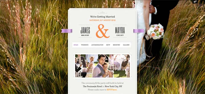 Just-Married---Wedding-WordPress Theme