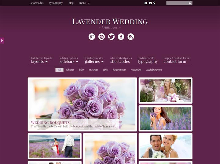 Lavender-Wedding