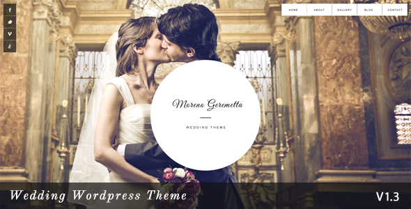 Moreno wedding wordpress theme