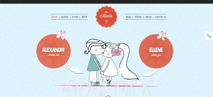 Wedding-Responsive-Theme