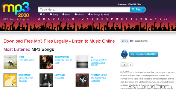 Download Free Mp3 Music Files Legally - Listen to Music Online : mp3