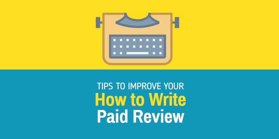 How to write paid review