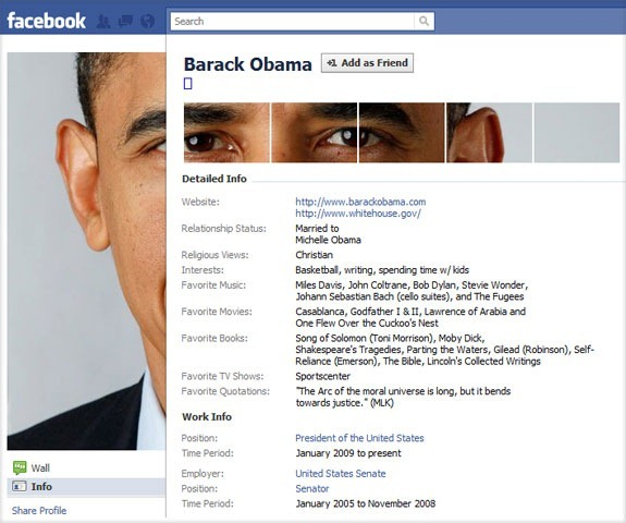 Facebook Profile Ideas