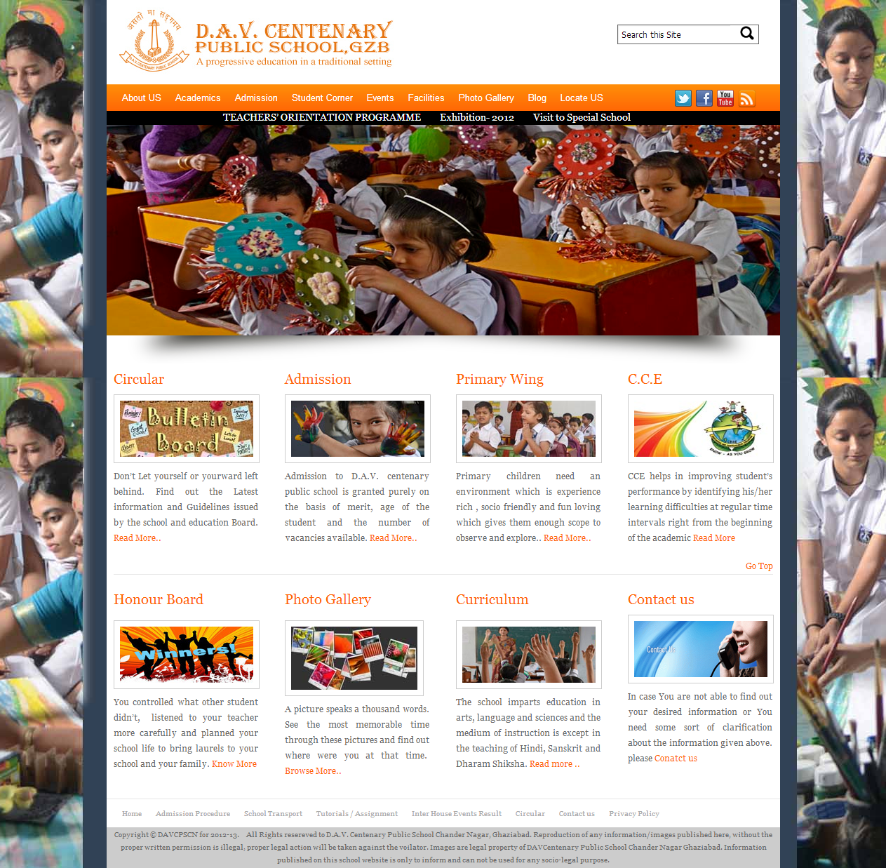 Free wordpress theme for schools