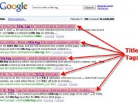 title Tag for SEO Optimization