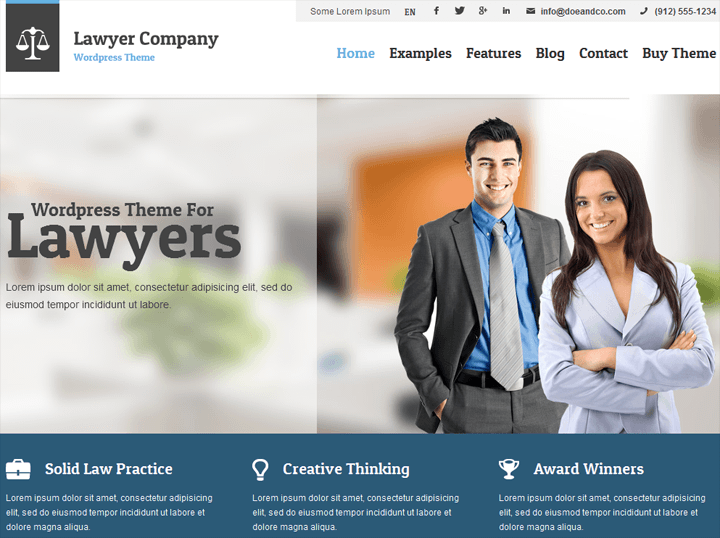 7 Best Lawyer Wordpress Theme Ever Designed