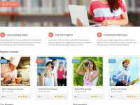 Responsive education wordpress theme