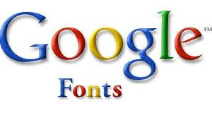 How to install Google web fonts