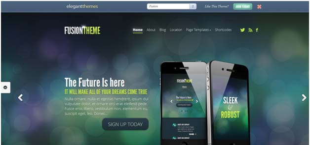 Specs For Elegant Themes WordPress Themes