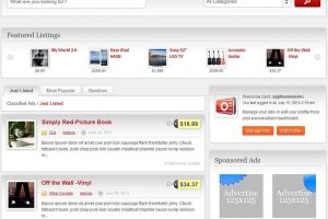 Create Classified Ads site