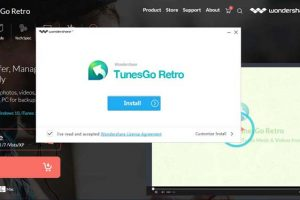 IOS File Transfer using TunesGo Retro