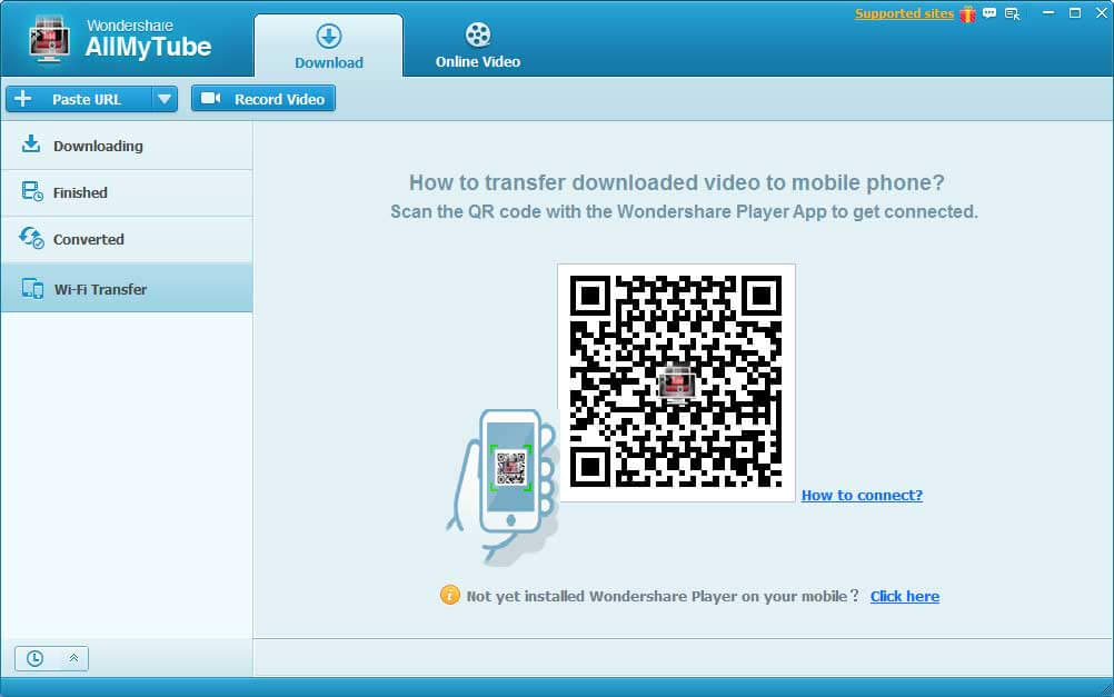 How to transfer Videos without USB cable