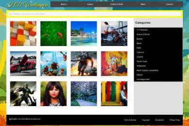 Photo Blogging WordPress theme
