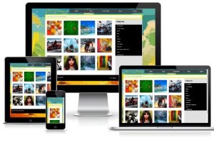 arun Wallpaper theme Responsive Design