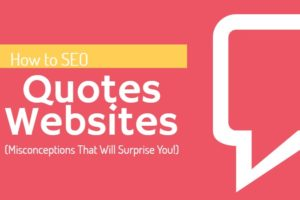 SEO Quotes Website