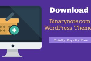 Binarynote-WordPress-theme