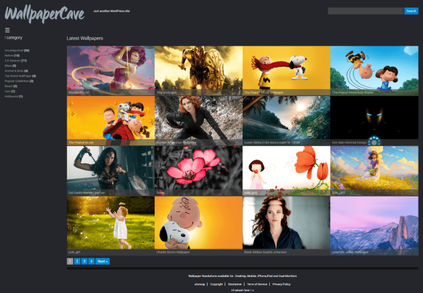 wallpapersite wordpress theme