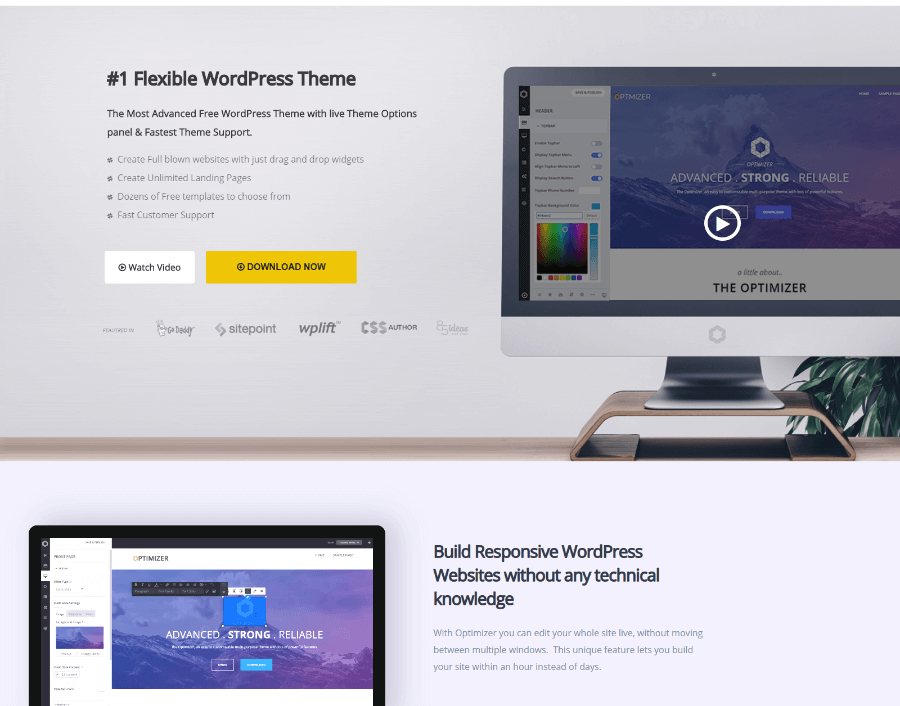 Free WordPress themes 2019