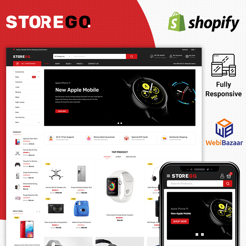 StoreGo - Electronic Shopify Theme