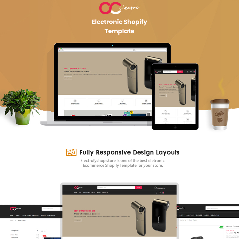 Electrofyshop - The Electronics & Smartphones Shopify Theme